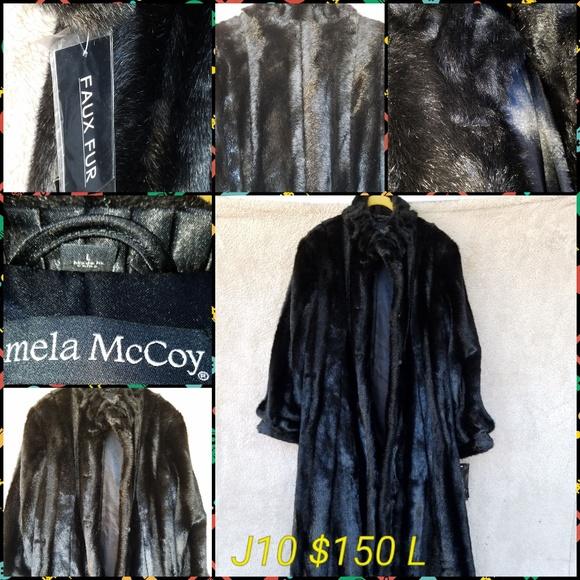 Pamela McCoy Jackets & Blazers - Mink Coat